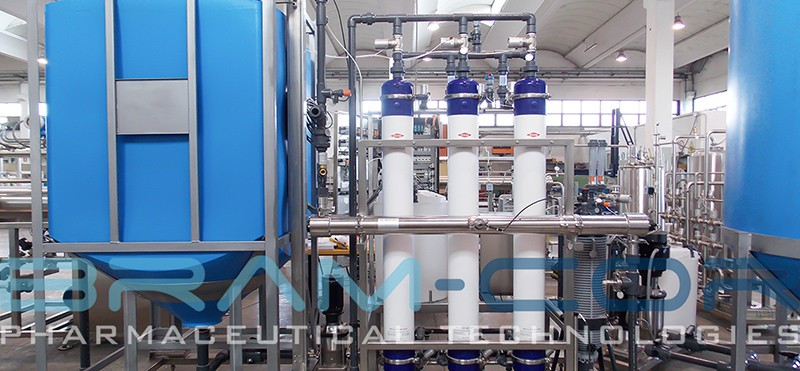 BRAM-COR Pharmaceutical grade waters - Pretreatment system-800