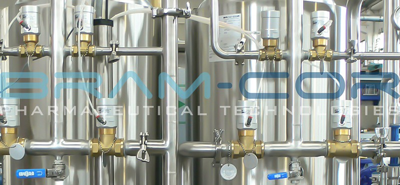 Bram-Cor Grade Waters- Hot sanitizable Water Pretreatment System-800